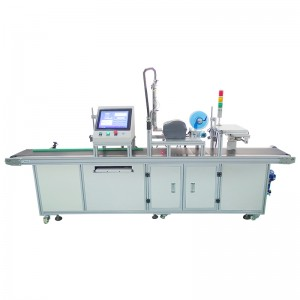 Real-time Printing and Side Labeling Machine
