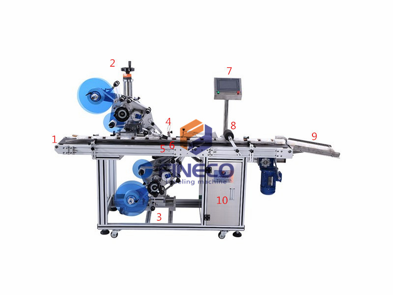 Automatic Two Side Labeling Machine for LED Screen