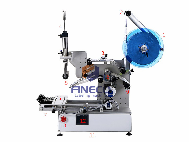 FK617 Semi Automatic Cell Phone Case Labeling Machine