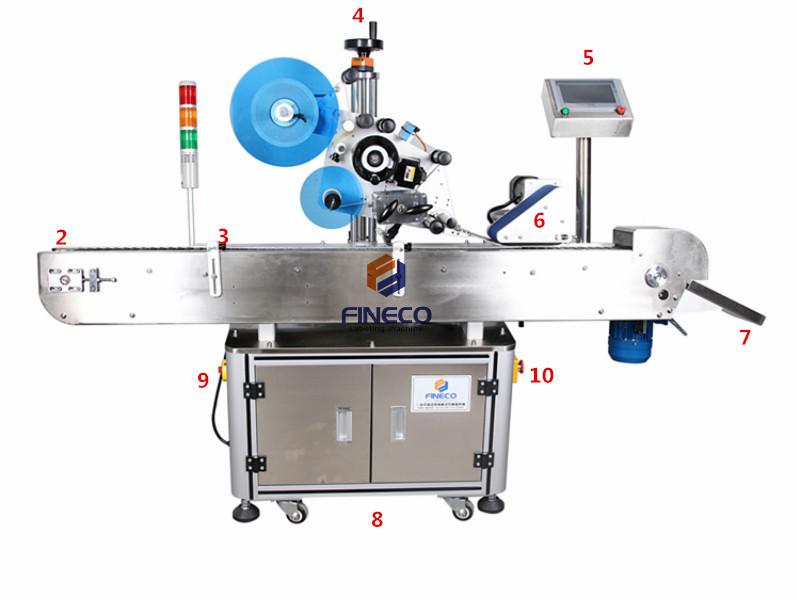 FK807 Automatic Crayon Labeling Machine