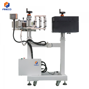 FKP-601 Labeling Machine With Cache Printing Label