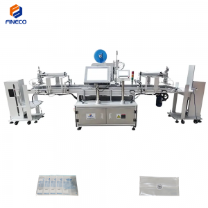 FK800 Automatic Flat Labeling Machine With Lifting Device