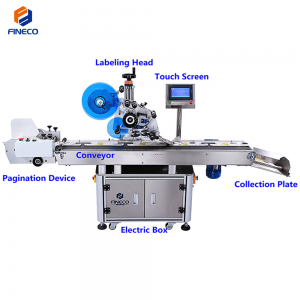 FK812 Automatic Card/Bag/Carton Labeling Machine