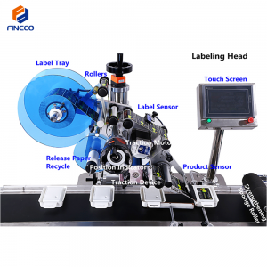 FK814 Automatic Top&Bottom Labeling Machine