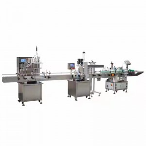 Personlized Products Wine Bottle Filler Machine - 6 nozzle liquid filling capping labeling machine – Fineco
