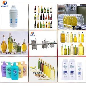 FK 6 Nozzle Liquid Filling Capping Labeling Machine