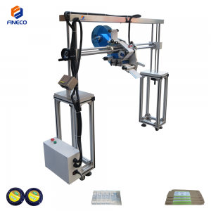 FK838 Automatic Plane Production Line Labeling Machine with Gantry Stand