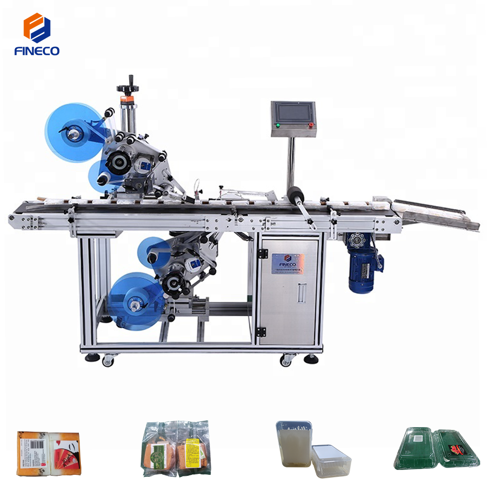 FK814 Top And Bottom Labeling Machine
