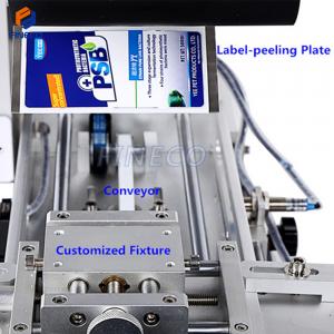 FK617 Semi automatic Plane Rolling Labeling Machine