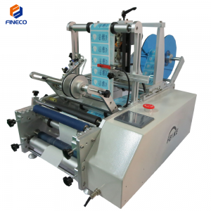 FK603 Semi-Automatic Round Bottle Labeling Machine