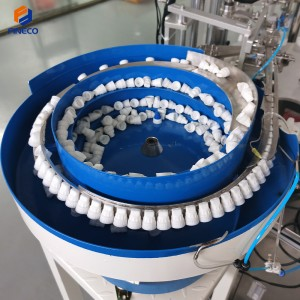 FKF801 Automatic Tube Small Bottle Capping Filling machine